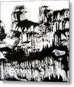 Sumi-e 120726-1 Metal Print