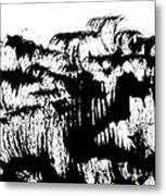 Sumi-e 120726-4 Metal Print