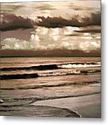 Summer Afternoon At The Beach Metal Print