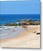 Summer At Port Macquarie Metal Print