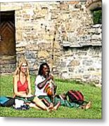 Summer Castle Metal Print
