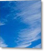 Summer Cloud Images Metal Print
