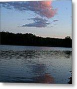 Summer Cloud Reflections Metal Print