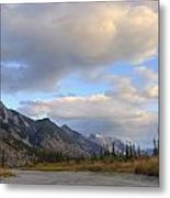 Summer Clouds Over Colin Mountain Metal Print