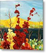 Summer Foliage Metal Print
