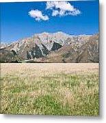 Summer Landscape Blue Sky Metal Print