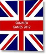 Summer Olympics In U.k. Metal Print