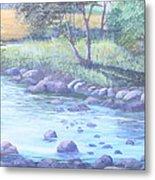 Summer River Metal Print
