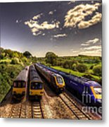 Summer Saturday At Aller Junction Metal Print
