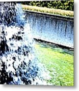 Summer Splash Metal Print