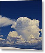 Summer Storms Over The Mountains 3 Metal Print