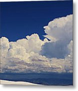 Summer Storms Over The Mountains 4 Metal Print