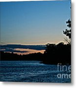 Summer Sundown Metal Print