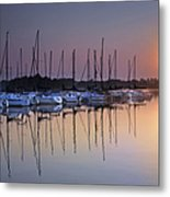 Summertime Sailing Metal Print
