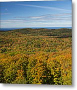 Summit Peak Autumn 12 Metal Print