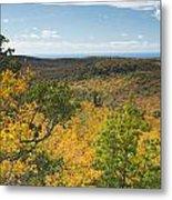 Summit Peak Autumn 16 Metal Print