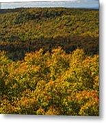 Summit Peak Autumn 9 Metal Print