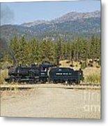 Sumpter Valley Railroad Metal Print