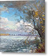 Sun After Storm Metal Print by Ylli Haruni