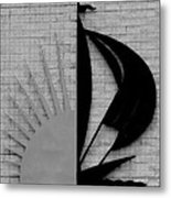 Sun And Sail Metal Print