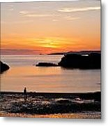 Sun And Surf Metal Print by Gary Finnigan