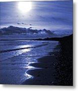 Sun At The Shore II Metal Print