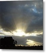 Sun Beams Metal Print by Paul Van Scott