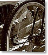 Sun Cruiser Wheels Metal Print