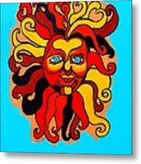 Sun God II Metal Print