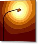 Sun-light Metal Print