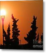 Sun Post Metal Print by Laurence Oliver