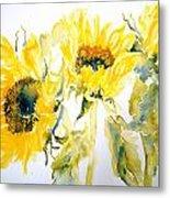 Sun Sisters Metal Print