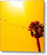 Sunbound Metal Print