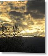 Sunday Autumn Sunset Two Metal Print