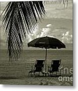 Sunday Morning In Key West Metal Print