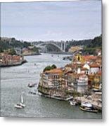Sunday Morning In Porto | Portugal Metal Print