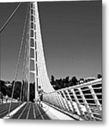 Sundial Bridge Two Metal Print
