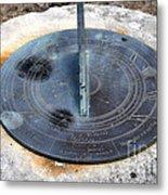 Sundial Metal Print by Joanne Kocwin