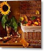 Sunflower - Still Life Metal Print