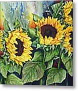 Sunflower Serenade Metal Print