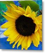 Sunflower Too Metal Print