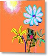Sunflowered 3 Metal Print