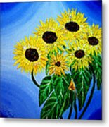 Sunflowers 1 Metal Print