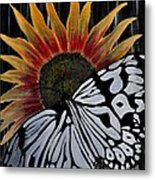 Sunfly Metal Print