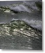 Sunlight And Waves 1 Metal Print