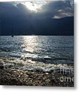 Sunlight And Waves Metal Print