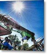 Sunny At The Fair Metal Print by Dan Crosby