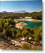 Sunny Day In El Chorro. Spain Metal Print
