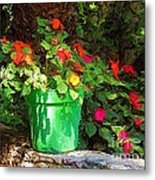 Sunny Delight Metal Print