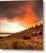 Sunrise At Bear Lake Metal Print